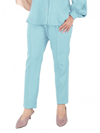 [Ready Stock] Lauren Pants-Tiffany Blue