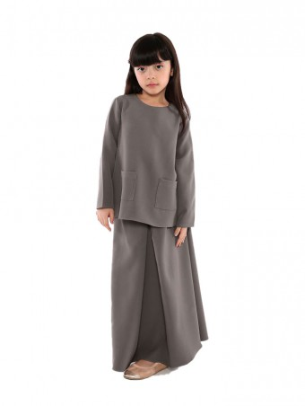 Naema Plain(K)-Smokey Grey