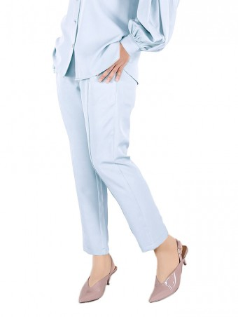 [Ready Stock] Lauren Pants-Baby Blue