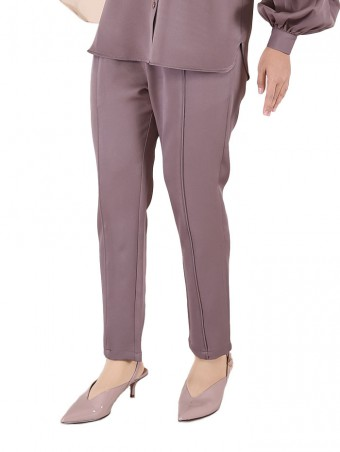 [Ready Stock] Lauren Pants-Smokey Grey