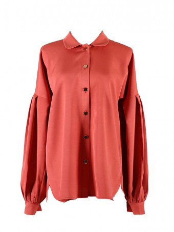 [Ready Stock] Lauren Top-Teracotta