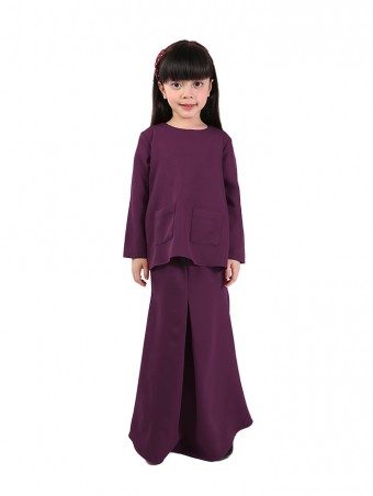 Naema Plain(K)-Burgundy