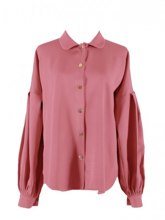 [Ready Stock] Lauren Top- Rouge Pink