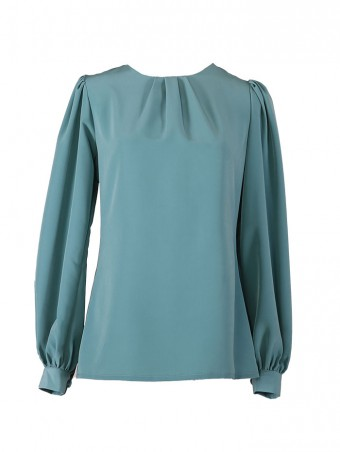 [Pre Order Delivery 18 March] Jessica Blouse 6.0-Tiffany Mint