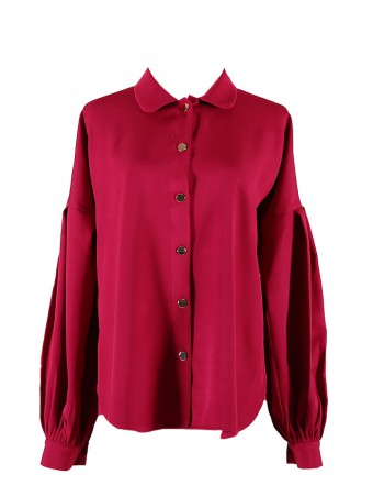 [Ready Stock] Lauren Top-Fushia Pink